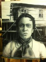 Portrait of Emma Goldman by Doug-Quixote