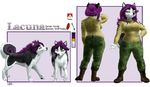 Commission - Lacuna Ref by myuinhiding