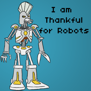 Turkey Bot by shawnisboring