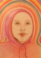 Face in the Rainbow by Anita-Sanderson