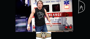Would Dean be a great WWE Champion by DraginKYle44