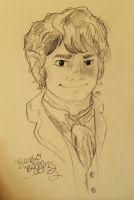 Sketchbook Bilbo Baggins by Alexbee1236