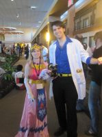 Professor Sycamore and Princess Zelda by Princess-Selia