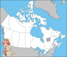 APH: Map of Canada by jjblue1