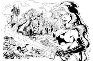Lady Death-Battlefield Dreams by Tarzman