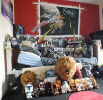 Some of our Jakes Star wars collection by mmc1uk