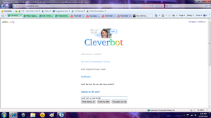 Cleverbot HP again by summerlvralwys