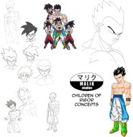 DBNA Daizenshuu - Children of Rigor concepts by MalikStudios