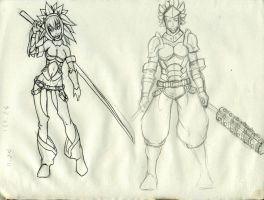 secondary characters 1 by GuildAdventure