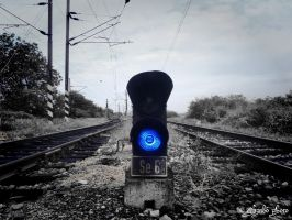blue warning by andika0
