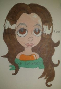 Me I did a while ago by Lunarrette
