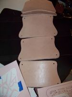 assassins creed vambrace WIP by MerrillsLeather