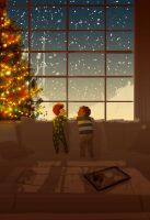 It falls without a sound by PascalCampion