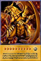 The Winged Dragon of Ra ( Hieratic ) by ALANMAC95
