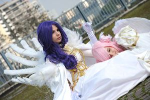 Cornelia and Euphemia by KuraitheDollfie
