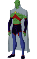 The Outsiders Martian Manhunter by jsenior
