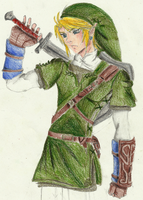 The Legend of Zelda: Link by ADistantDiamondSky