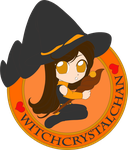 Chibi Witchy by Nightwind-Dragon
