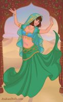 Bollywood Princess Hanna by AnneMarie1986