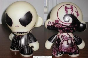 Jack Skellington(Munny) by captaingrimmjow
