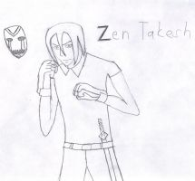 Zen Takesh by MysteryTheHedgehog2