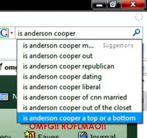 Is... Anderson... Cooper... by omggetshotintheface