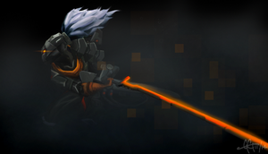 Cyber Ops Yasuo by GGgunner47