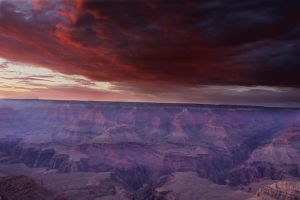 Grand Canyon Sunset by makobsan