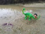 The Good Dinosaur Sculptures by KatiesClayCreatures