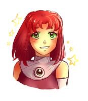 Short-haired Starfire~ by GothicShoujo