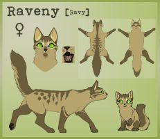 Raveny Chara Sheet by aThousandPaws