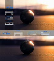 Zerox Simply 2 (Rainmeter) by ZeroxProject