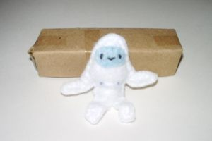 Tiny Poseable Yeti by kiddomerriweather