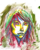 Abstract Face by Caleb-Brown