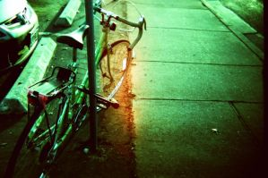 lonely bicycle by LazloHollyfeld