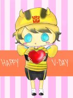 Bee my Valentine by Namecchan