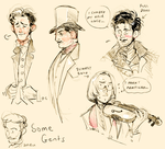 Some gentlemen by Barukurii