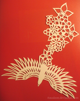 Papercutting: Birds and Flowers by Ancaleon