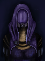 Tali'Zorah vas Normandy by JuliaToffy