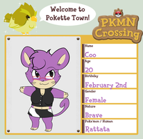 PKMN Crossing Application by CooCatDiva