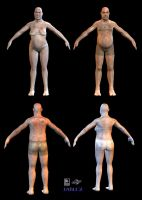 Fat Naked Dudes by strangelet