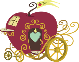 The Apple Carriage by Catnipfairy