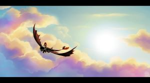 Dream flight by ElenaKotlyakova