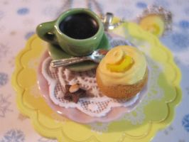 coffee and lemon poppy seed by CandyChick