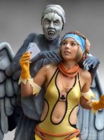 Weeping Angel trouble by Vanne