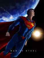 Man of Steel by OniChild