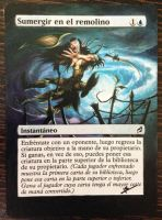 Whirlpool Whelm - Altered MTG Card by Hissarlid