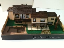 Poltergeist Scratch made model for sale by johnstewartart