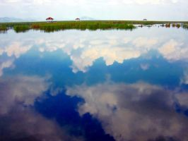 Thailand: Reflections 1 by v-collins