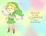 Link with Fairies by ALittleSeahorse